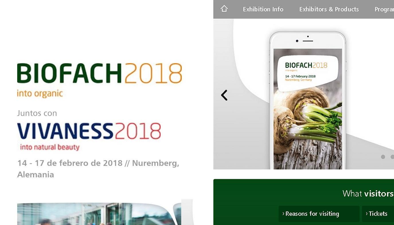 Participación en BioFach